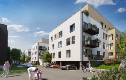 Byty u parku jsou lákadlem pro nové bydlení v Praze