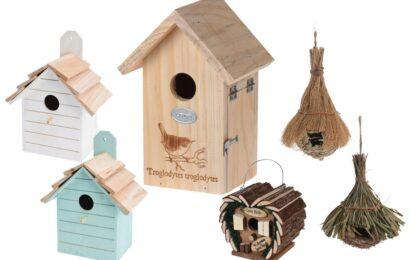 Vyvěste ptačí budky a přilákejte ptáčky do své zahrady